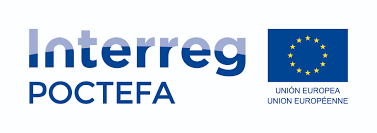 Logo de Interreg Poctefa
