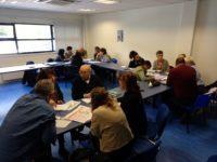 Imágenes de las sesiones de formación realizadas con los agentes del Ekosistema Adinberri