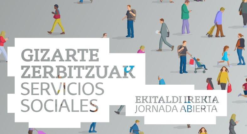 Cartel anunciador del Postgrado en Gestión e Innovación en Servicios Sociales
