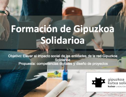 Gipuzkoa Kutxa Solidarioa: Competencias Digitales y Diseño de Proyectos