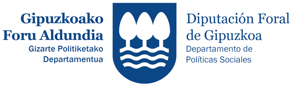 Logo Políticas Sociales DFG-Gizarte Politika GFA