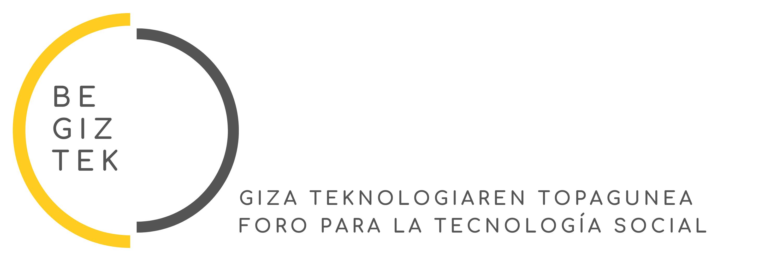 Logo Begiztek. Foro para la Tecnología Social.